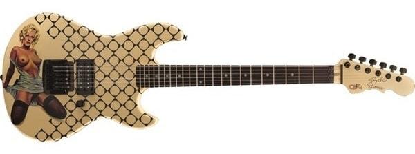 Cantrell Blue Dress Guitar