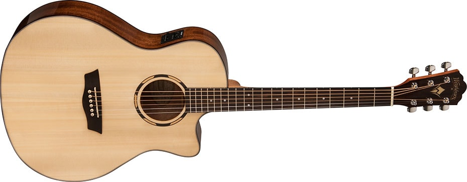 Washburn WLO10SCE Low Action Acoustic Guitar