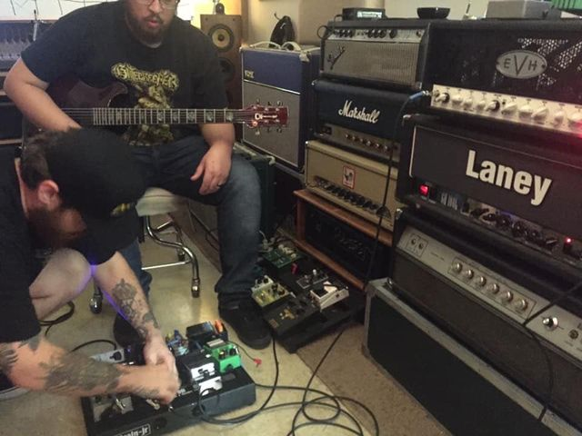 Terminal Nation Guitar Interview
