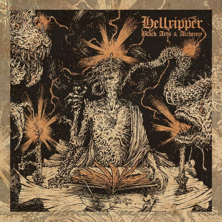 Hellripper Black Arts & Alchemy Album Cover