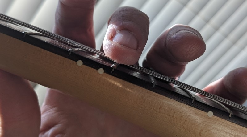 12th Harmonic Guitar Intonation