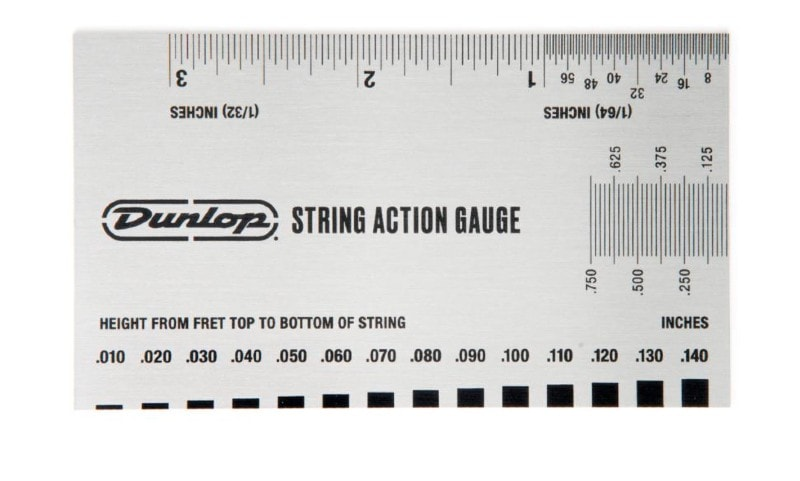 Guitar Action Ruler