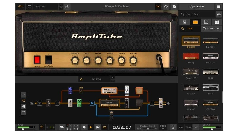 Amplitube - how to use your computer as a guitar amp