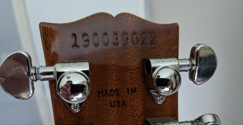 How To Spot A Fake Gibson Les Paul - Serial Number