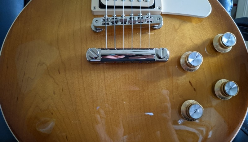 How To Spot A Fake Gibson Les Paul - Stoptail Position