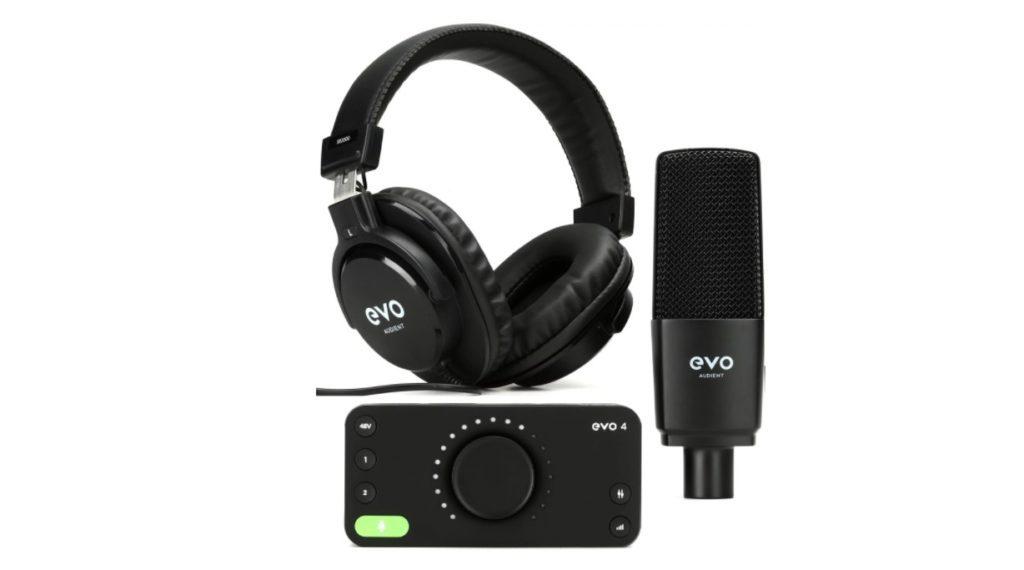 Best Home Recording Studio Packages - Audient Evo Start Recording Bundle