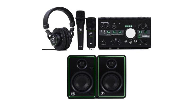 Best Home Recording Studio Packages - Mackie Big Knob Studio Bundle