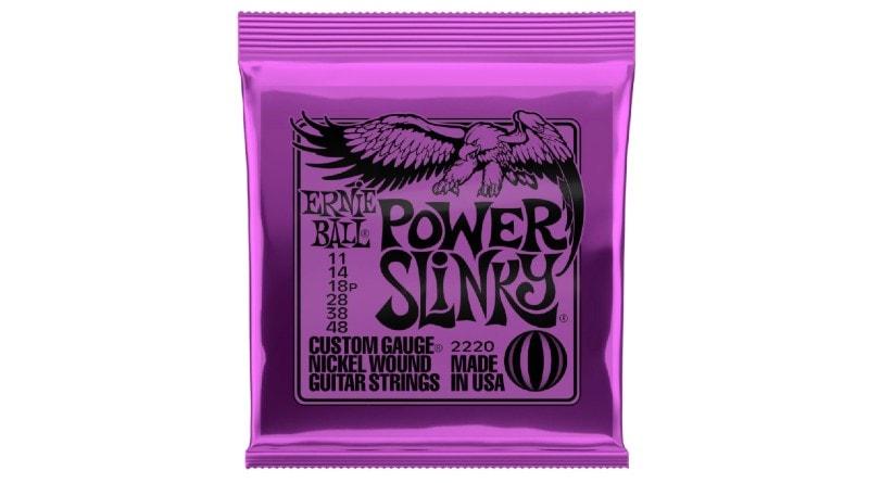 Ernie Ball Power Slinky - Best Guitar Strings For Blues