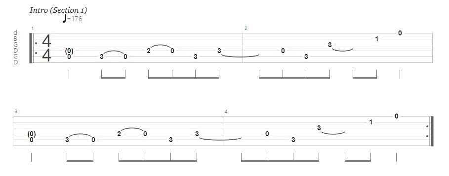 Ultimate Guide to Open G Tuning - Them Crooked Vultures - Elephants Tab