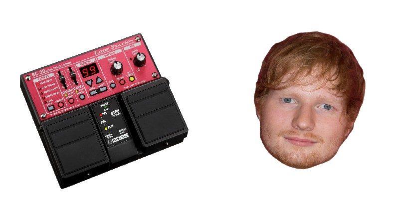 Ed Sheeran Loop Pedal