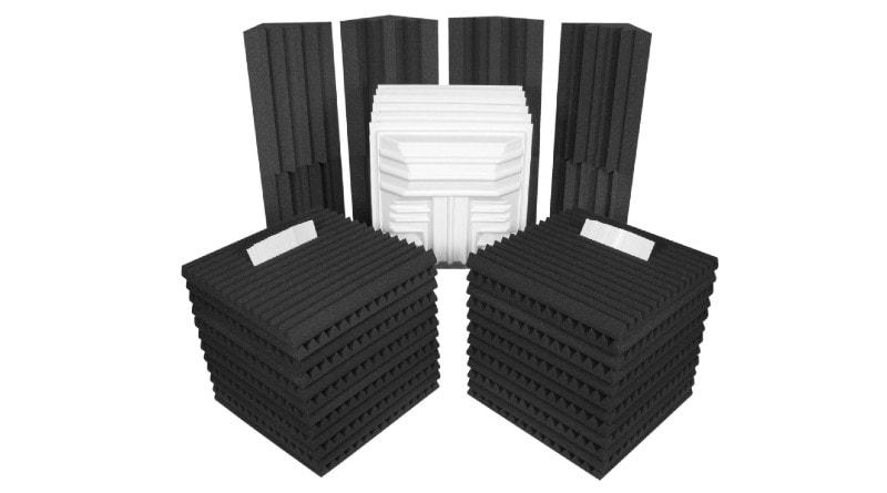 Auralex Deluxe Acoustic Soundproofing Foam Panels